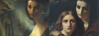 Restoration of antique paintings