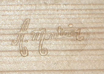 Stamp of traditional craftsmanship