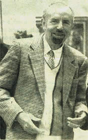 Mr de Montcassin - founder of the 1st school for art restoration in France in 1972