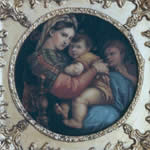 Madonna with chair after Raphael